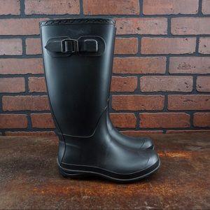 KAMIK Tall Olivia Rain Boots Buckle Closure Size 6